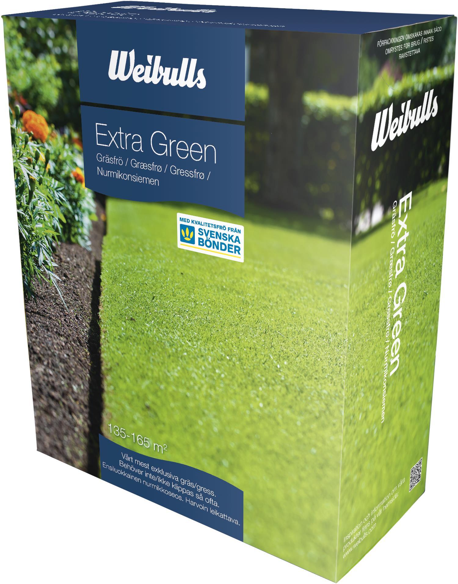 Produktbild 1 på Gräsfrö Extra green