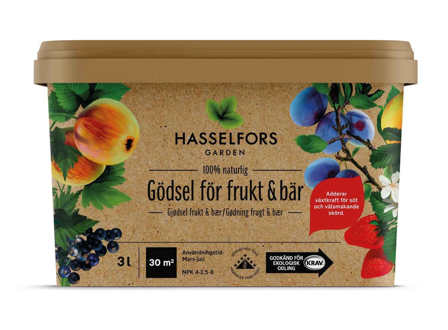 Produktbild på Gödsel för frukt och bär