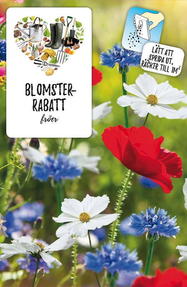 Produktbild på Fröblandning blomsterrabatt