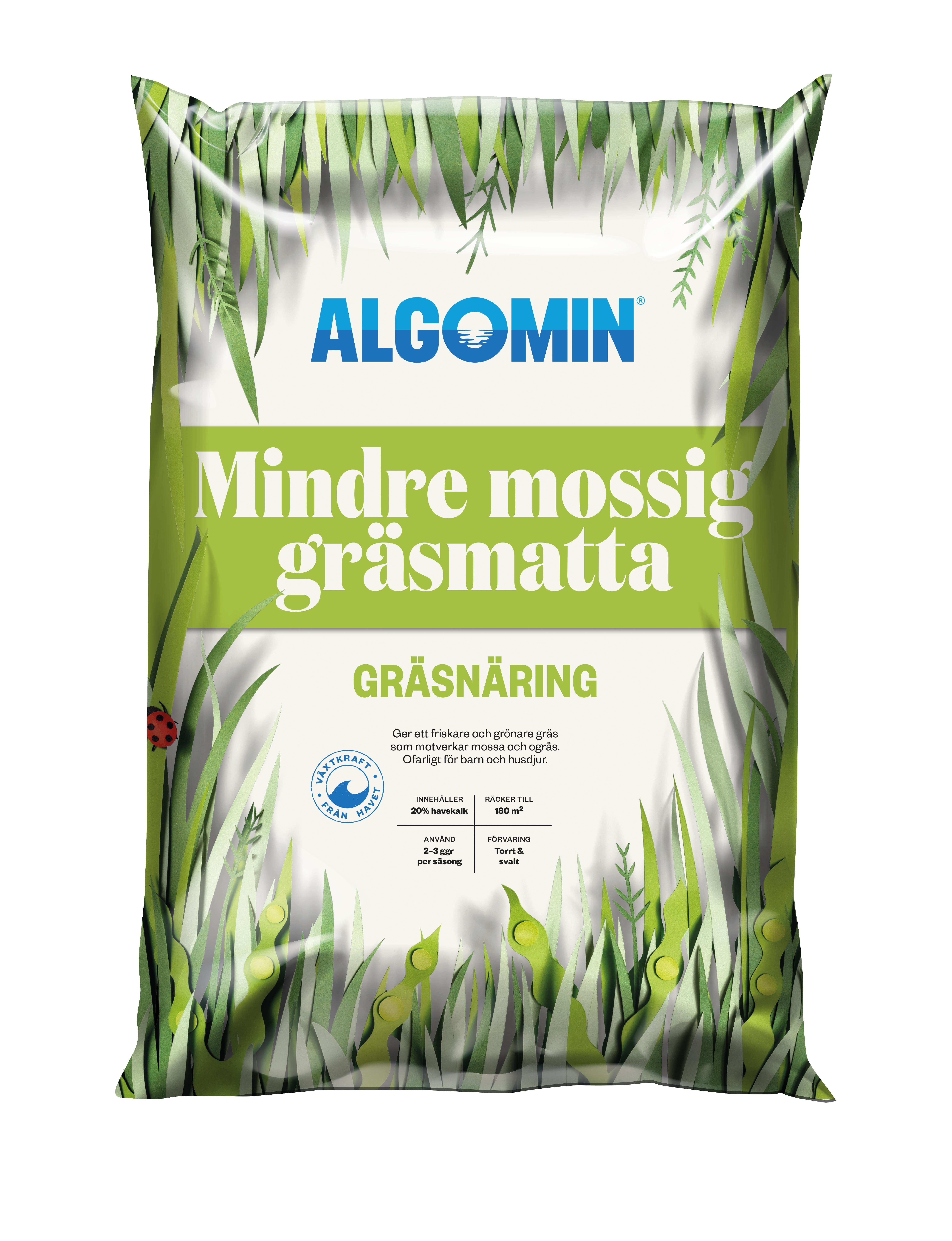 Produktbild på Gräsgödsel Mossa Algomin