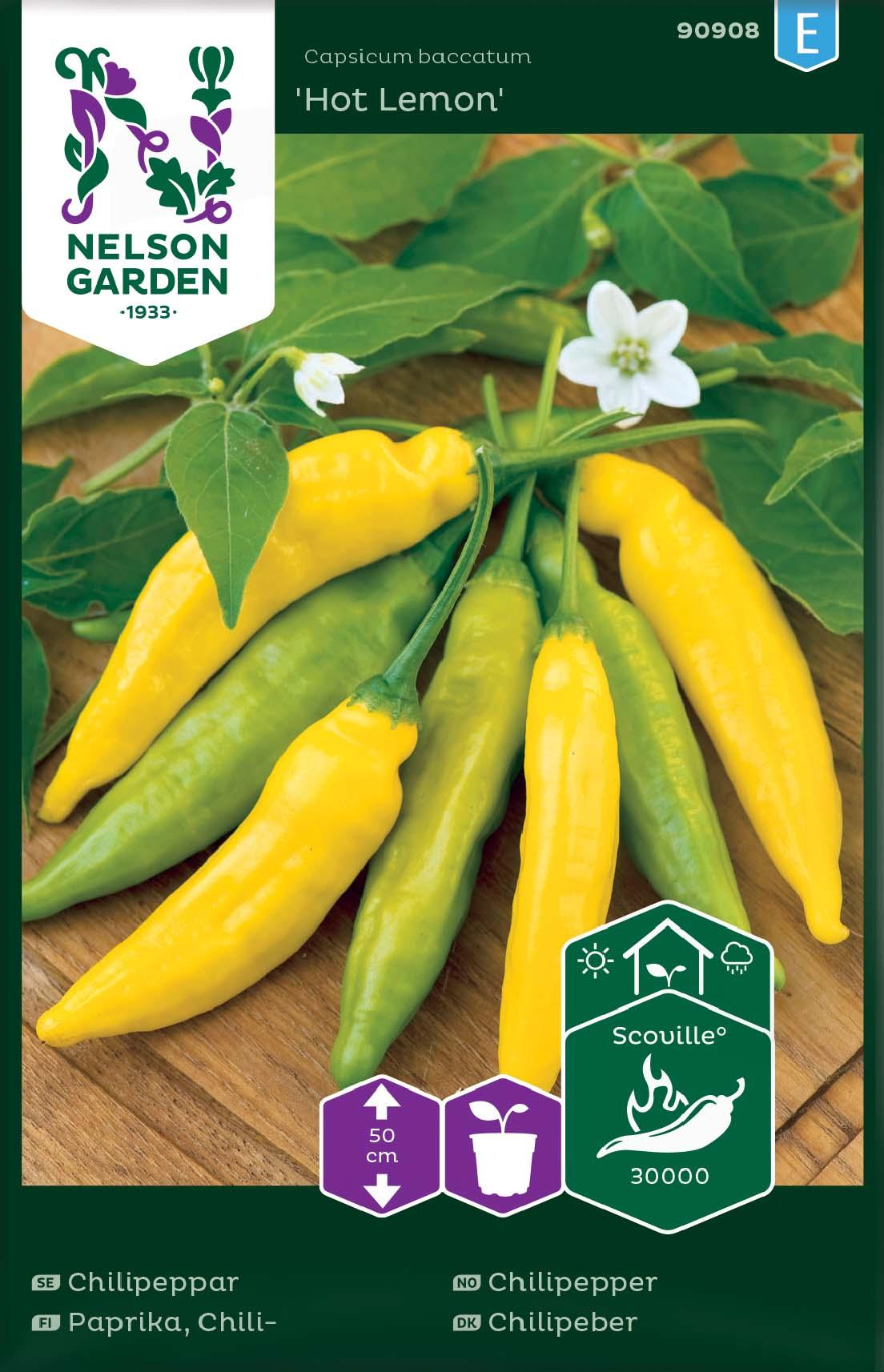 Produktbild på Chilipeppar 'Hot Lemon'