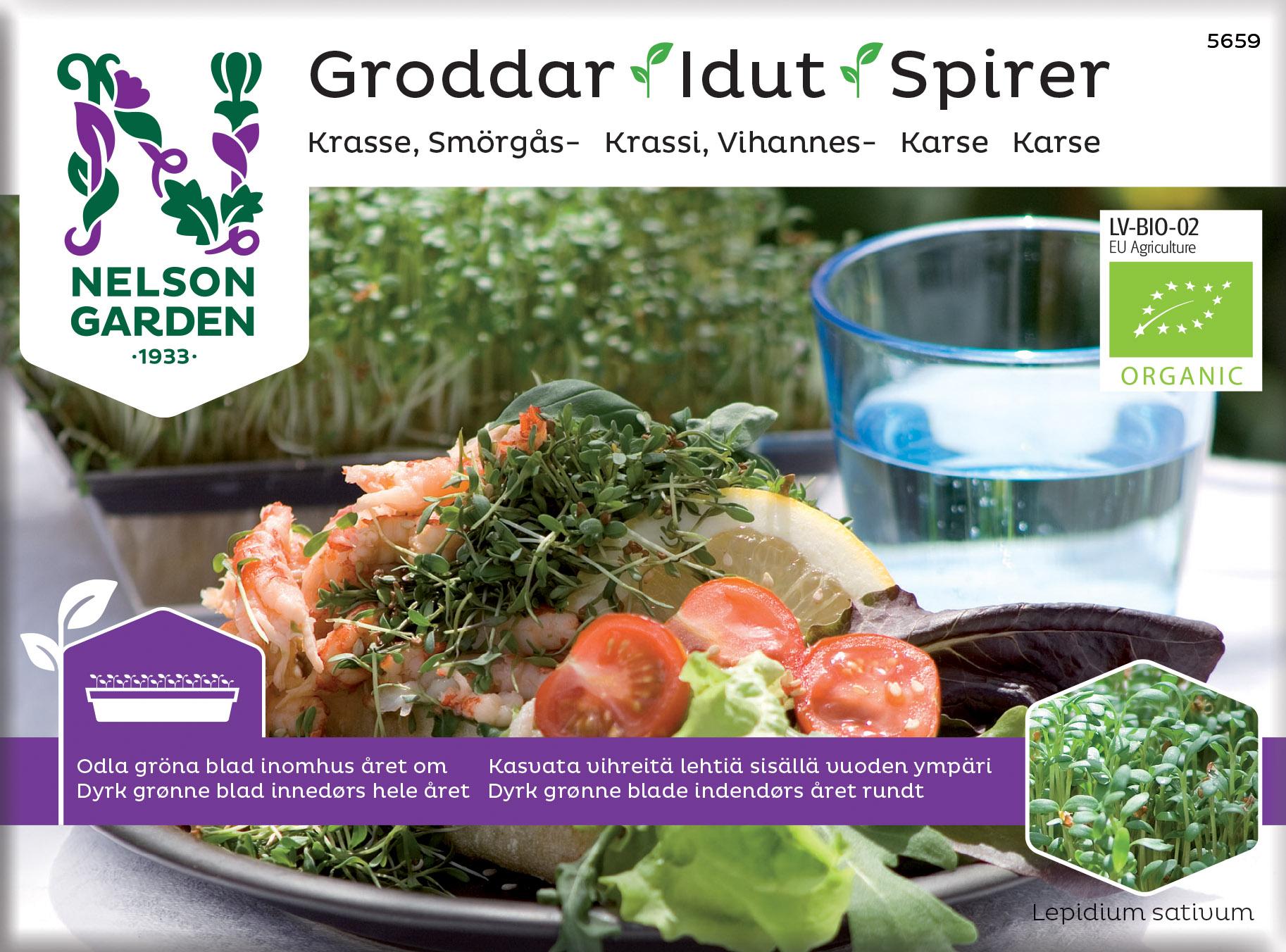 Produktbild på Groddar, Smörgåskrasse