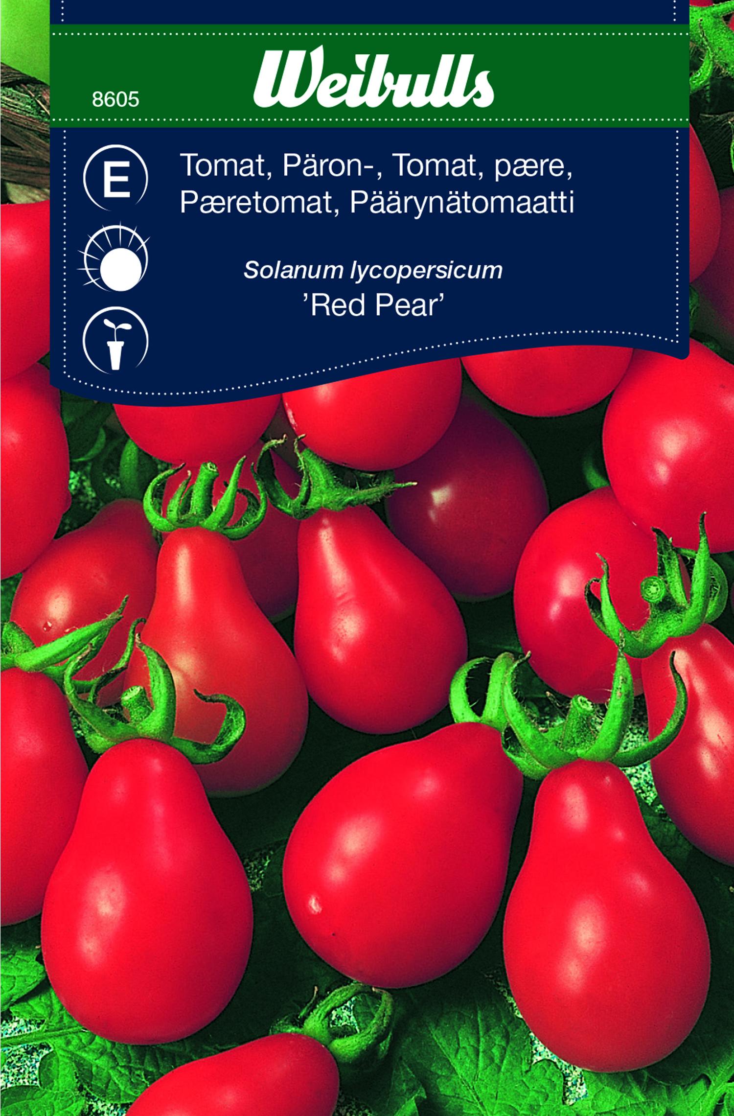 Produktbild på Tomat 'Red Pear'