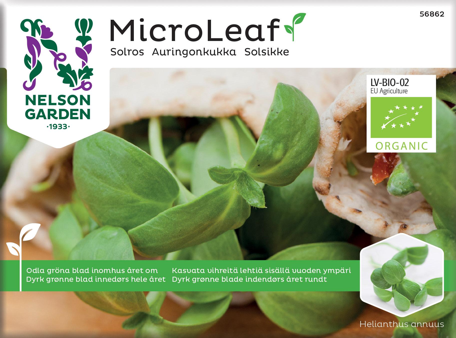 Produktbild på Micro Leaf Solros