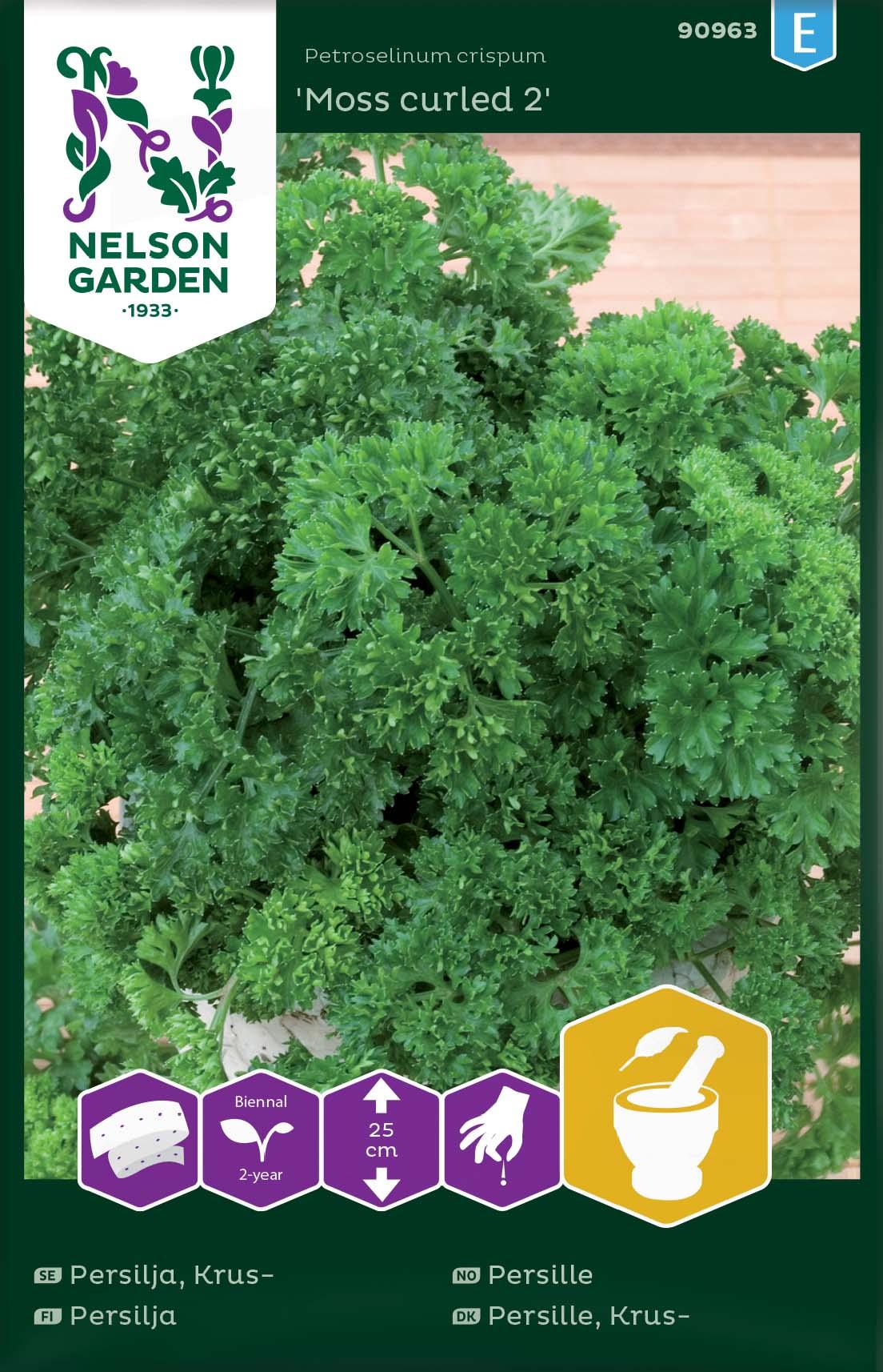 Produktbild på Kruspersilja 'Moss curled 2' såband