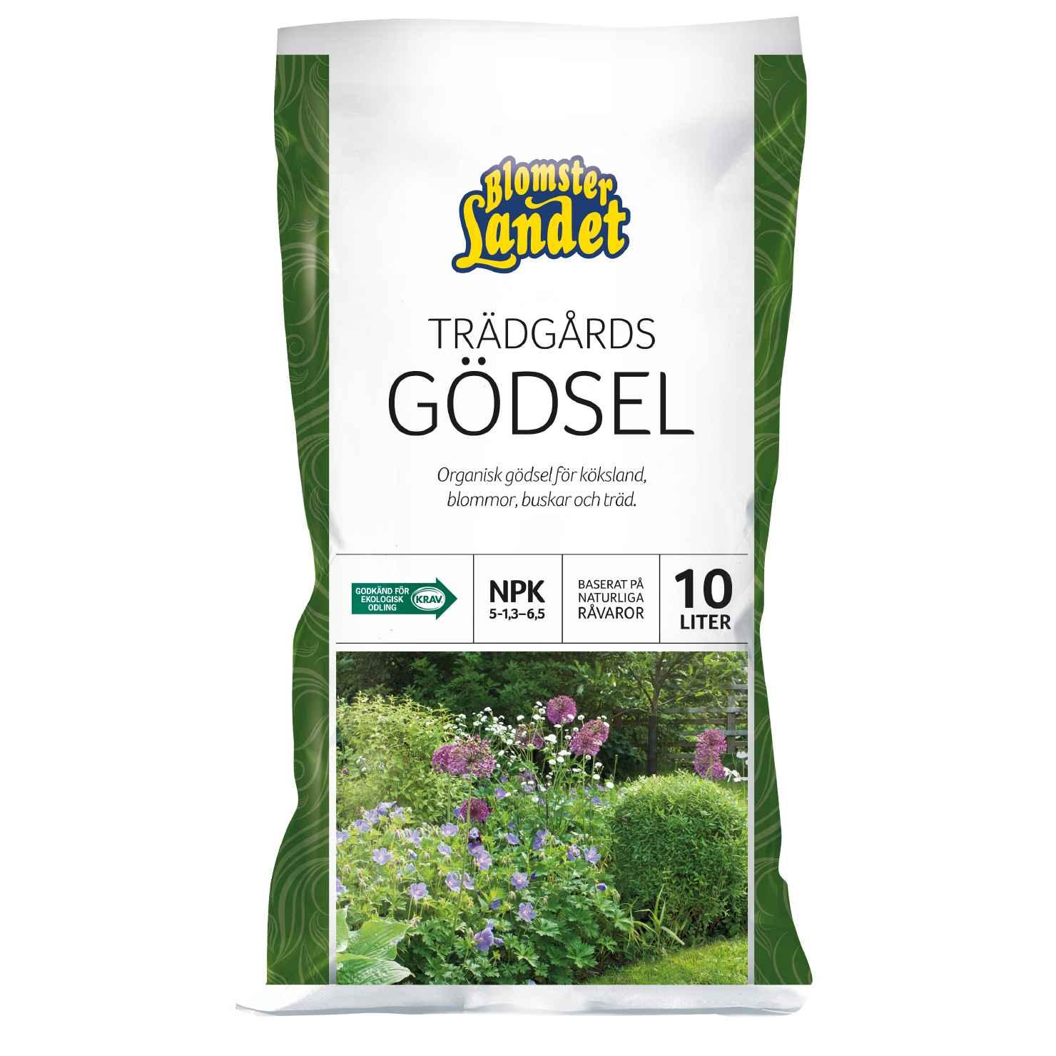 Produktbild på Trädgårdsgödsel Blomsterlandet