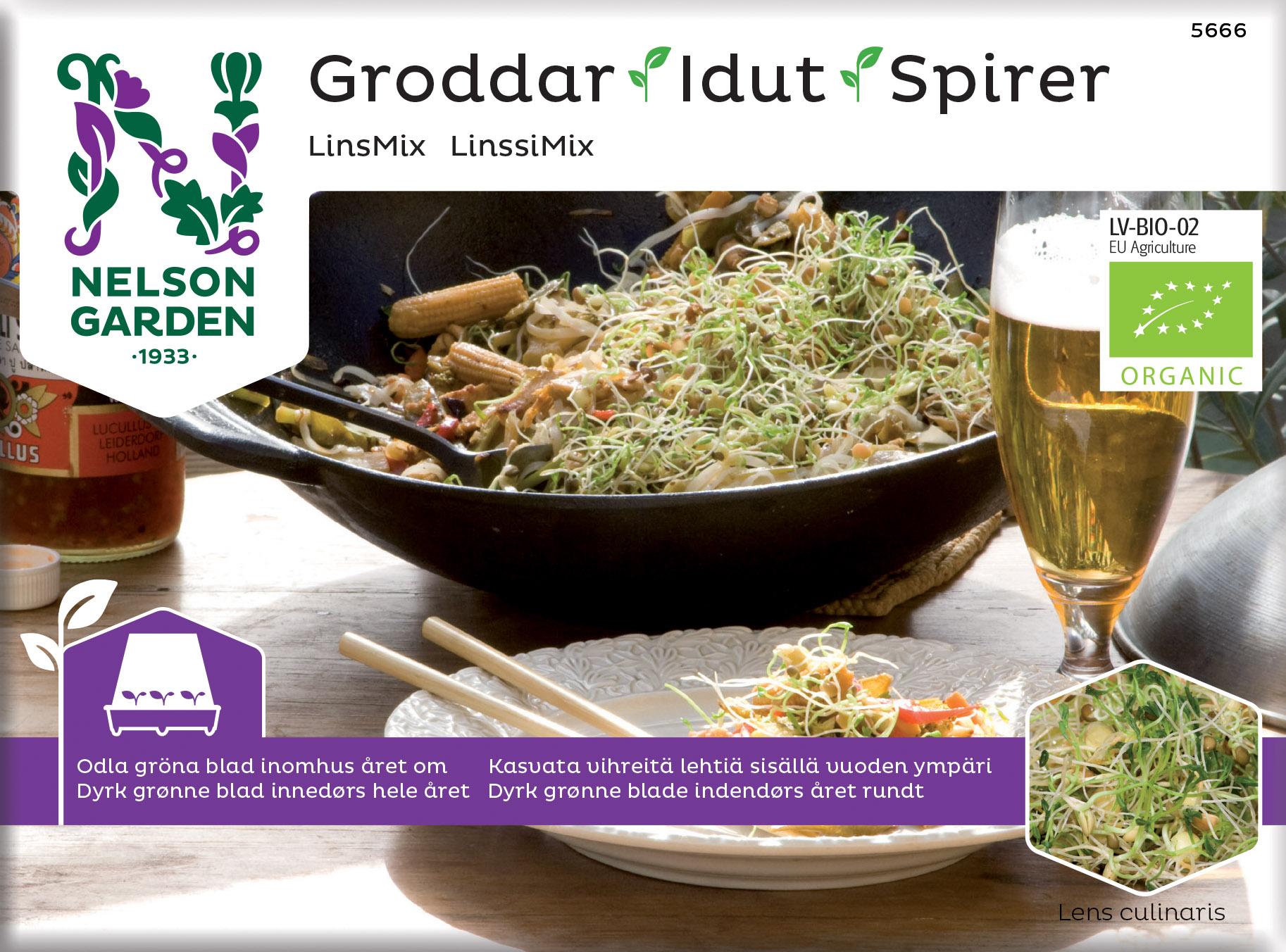 Produktbild på Groddar, Linsmix