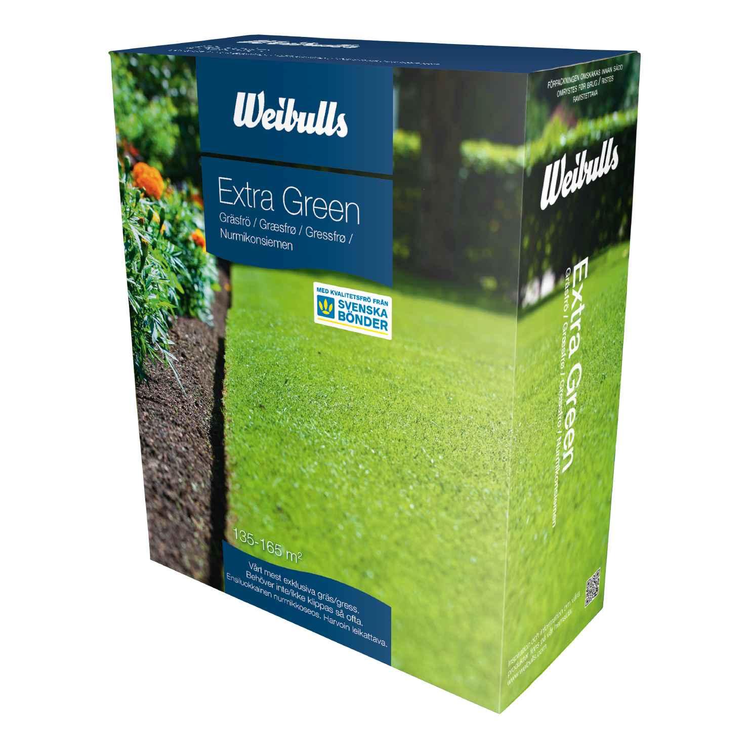 Produktbild 2 på Gräsfrö Extra green