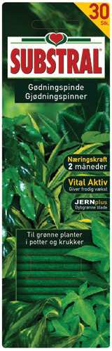 Produktbild på Näringspinnar gröna växter Substral