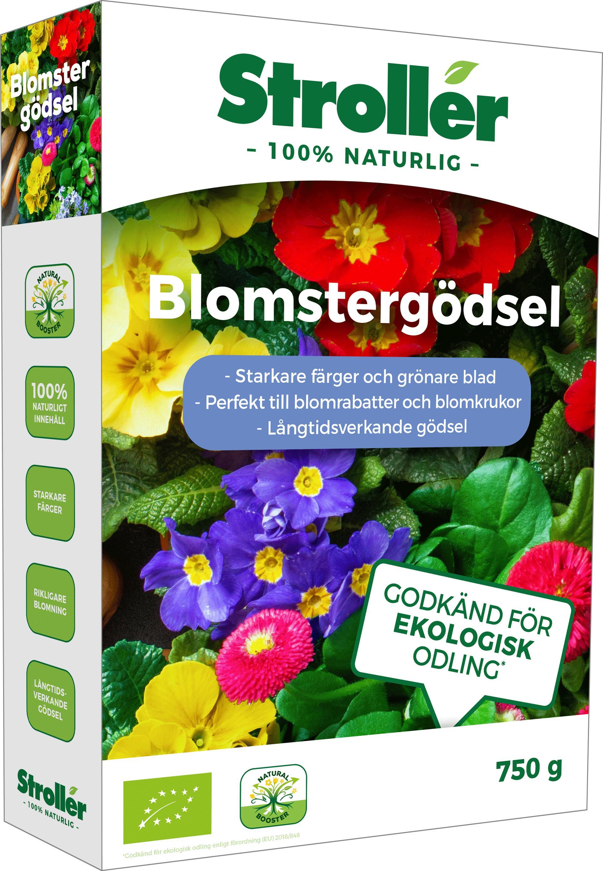 Produktbild på Blomstergödsel Stroller natur