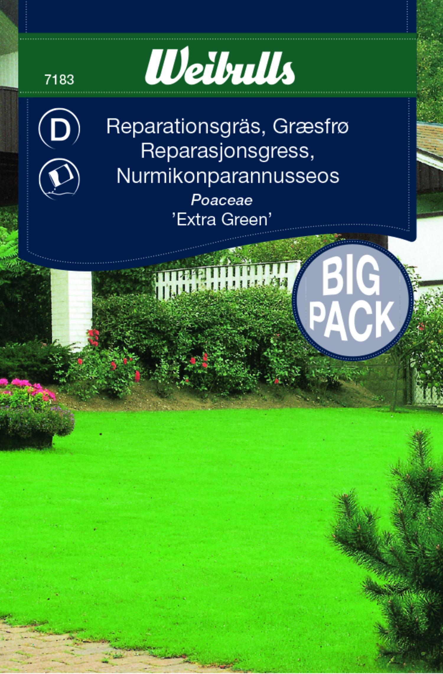 Produktbild på Reparationsgräs 'Extra Green'