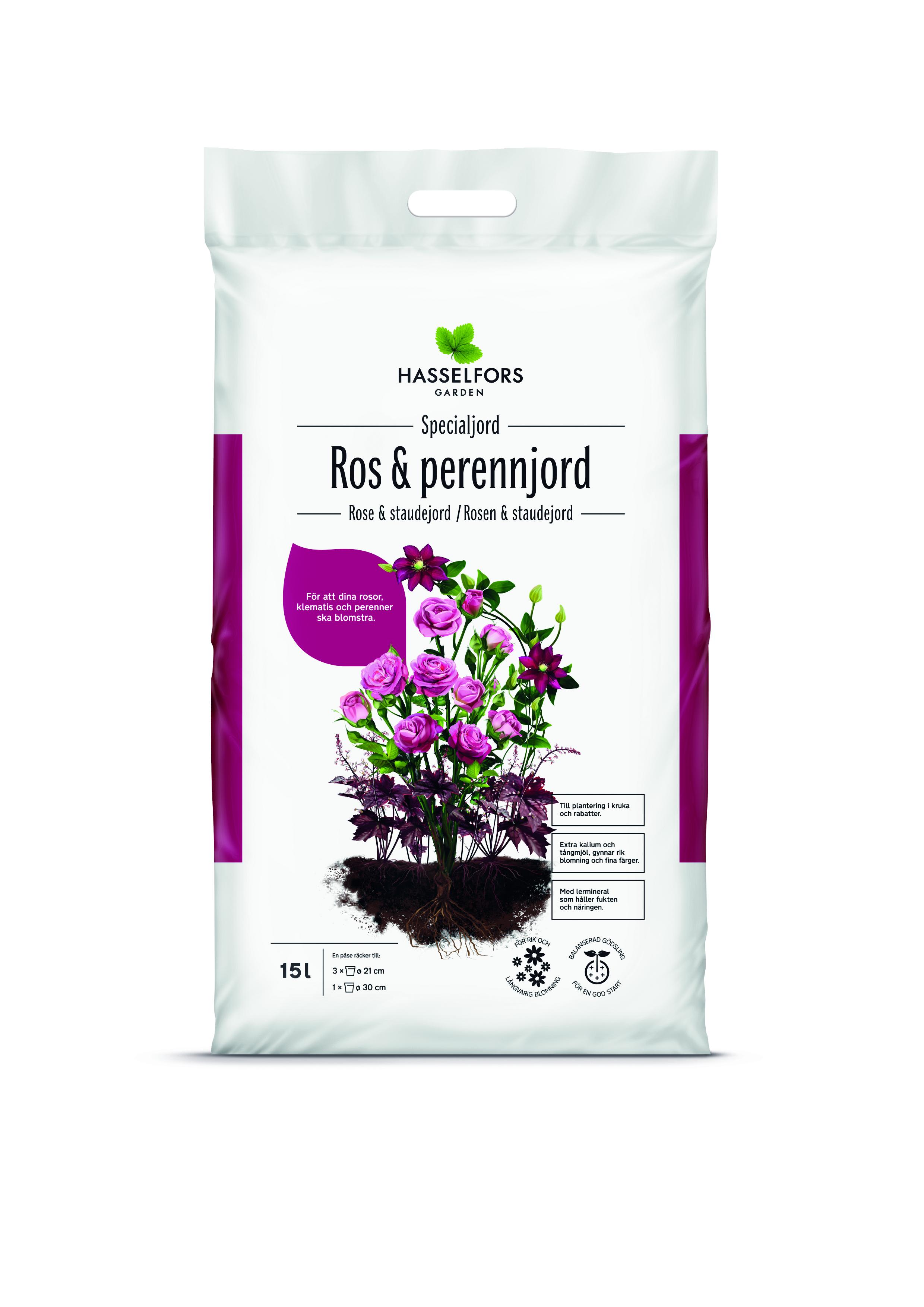 Produktbild på Ros & perennjord
