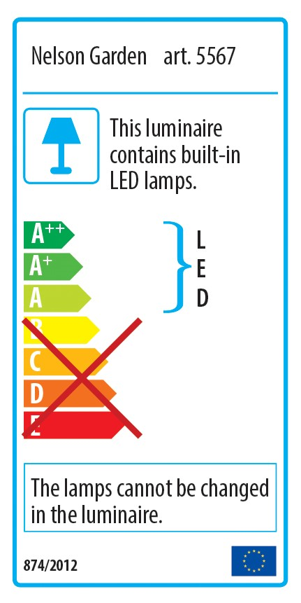 Produktbild 2 på Växtbelysning LED med adapter