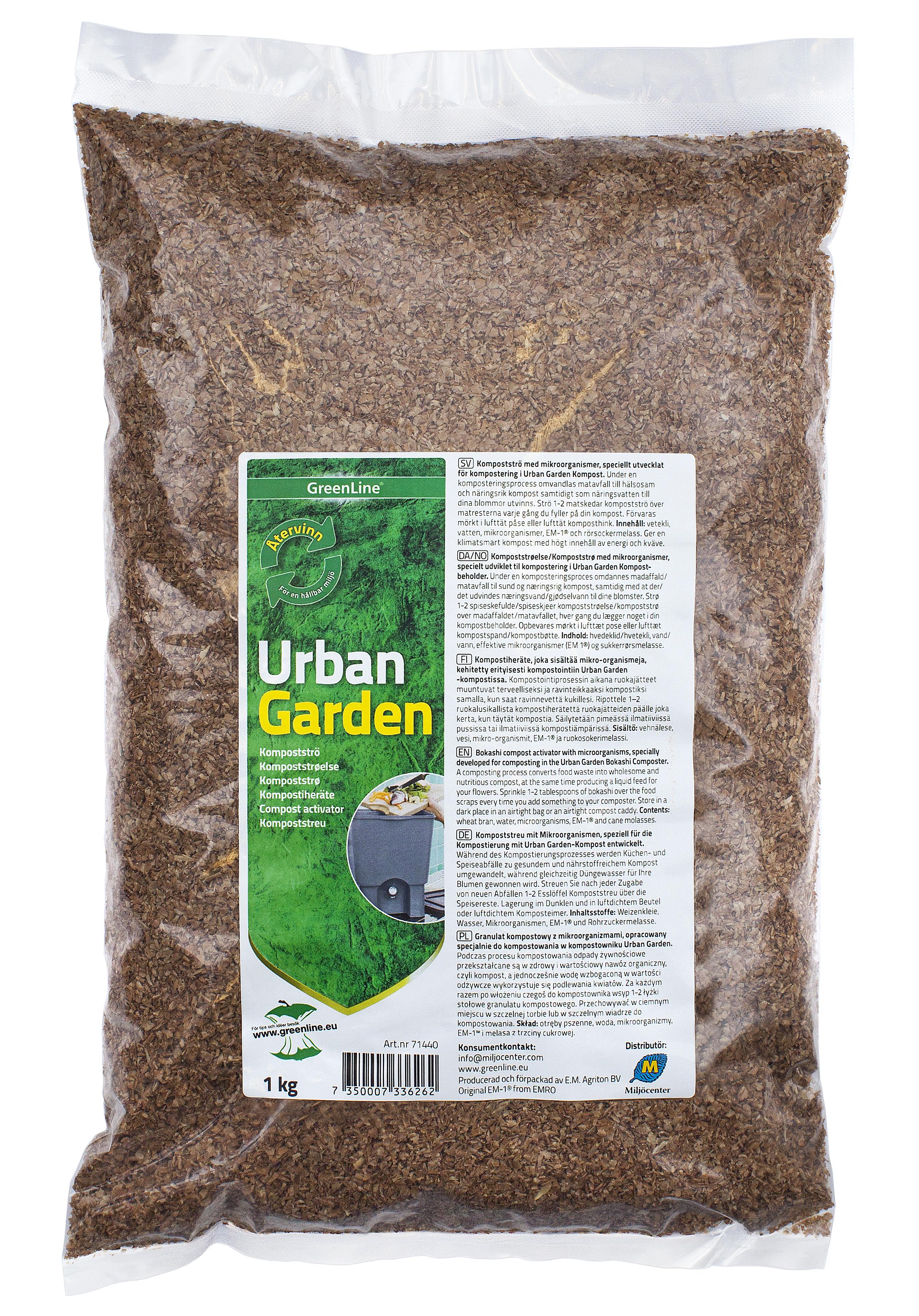 Produktbild på Kompostströ Urban Garden
