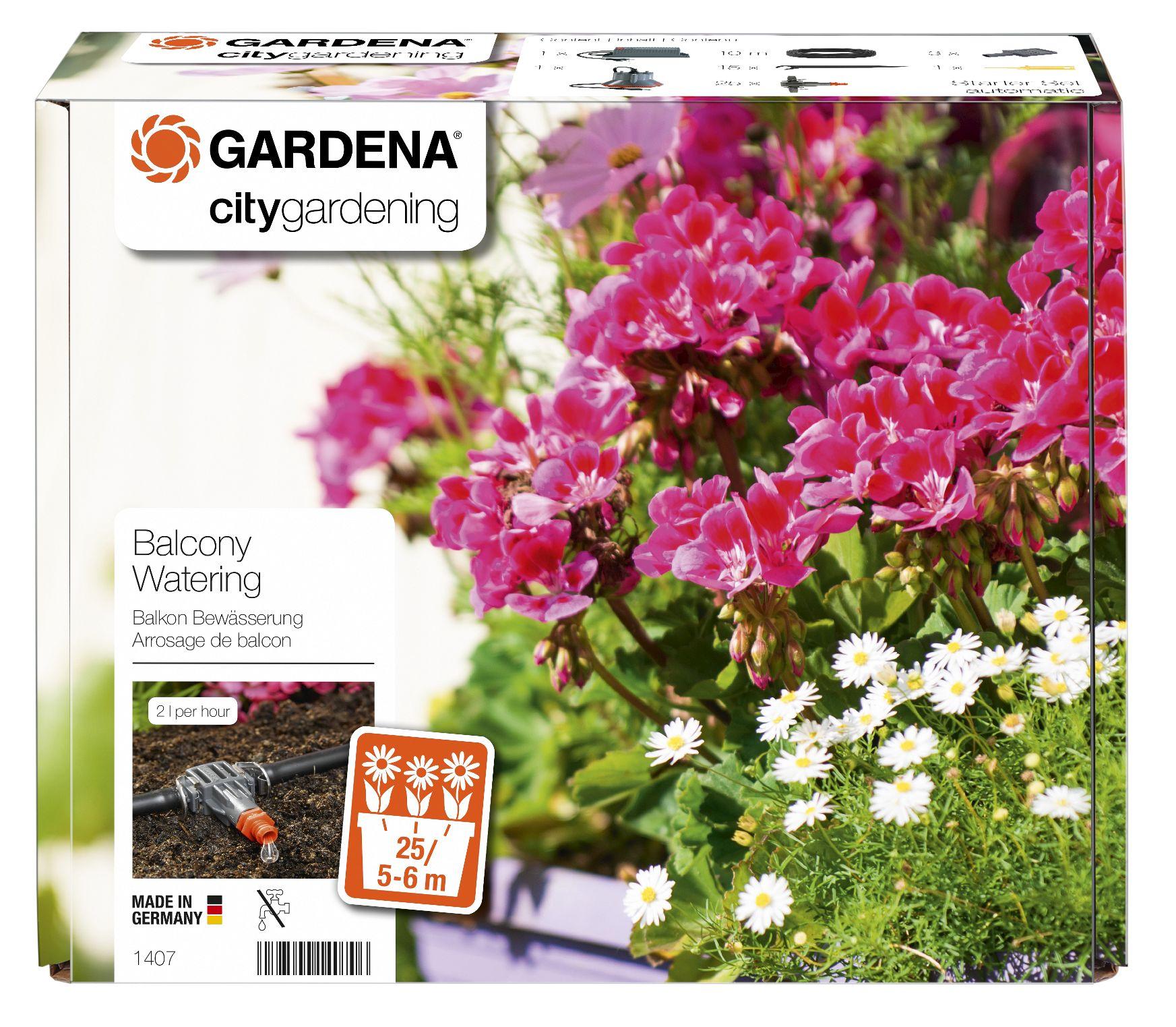 Produktbild på Helautomatisk bevattning av blomlådor
