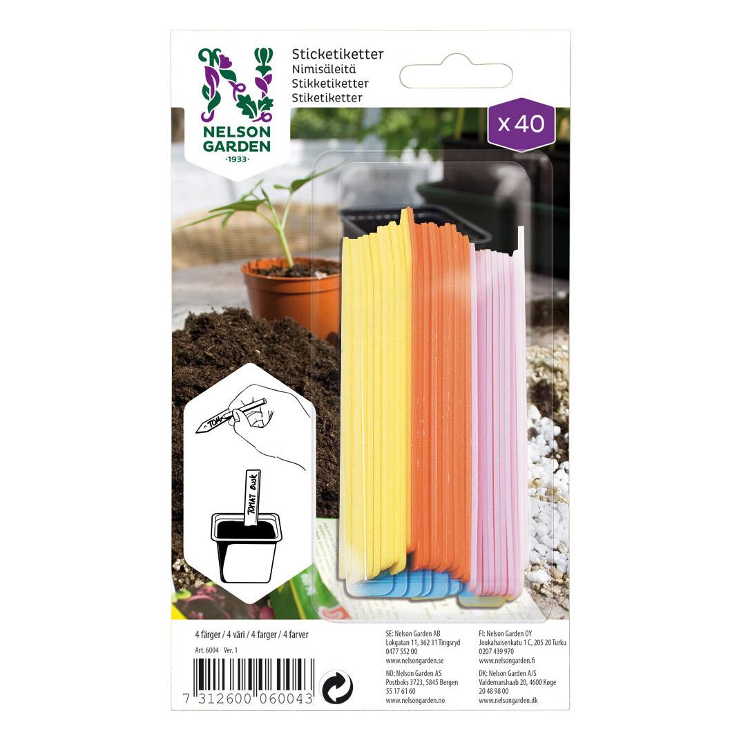 Produktbild på Sticketikett färg plast