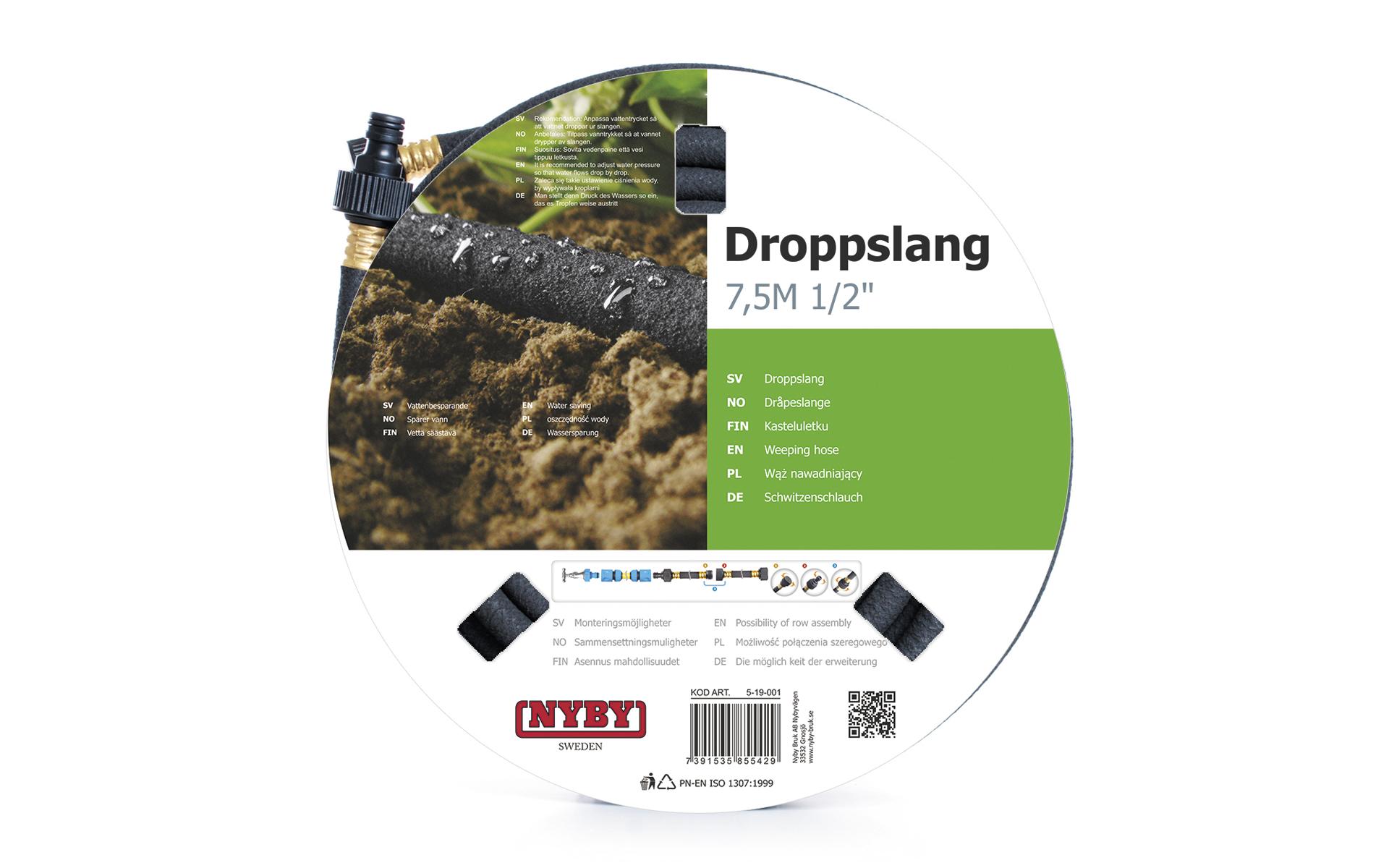 Produktbild på Droppslang Nyby