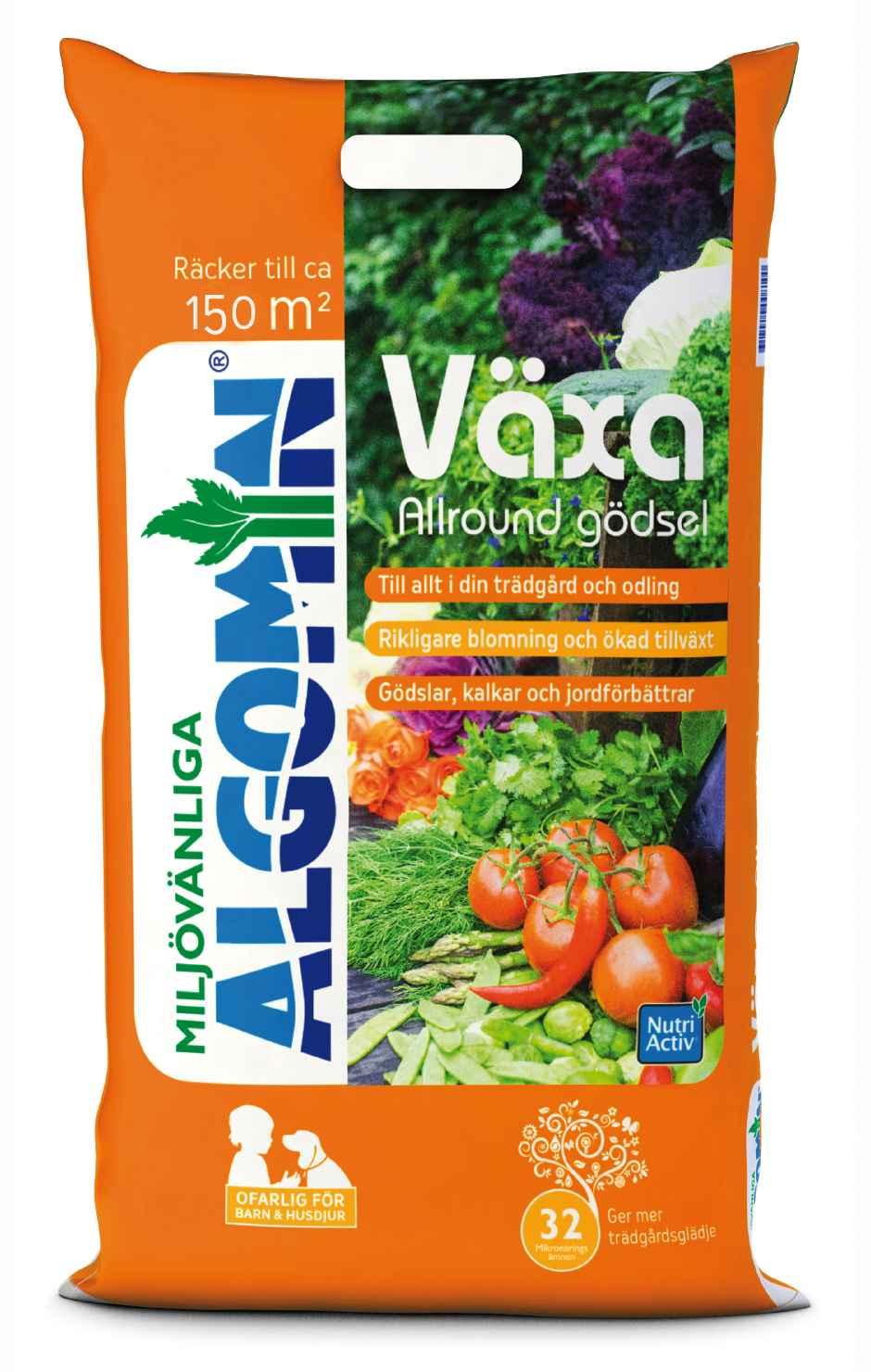 Produktbild på Trädgårdsgödsel Växa Algomin