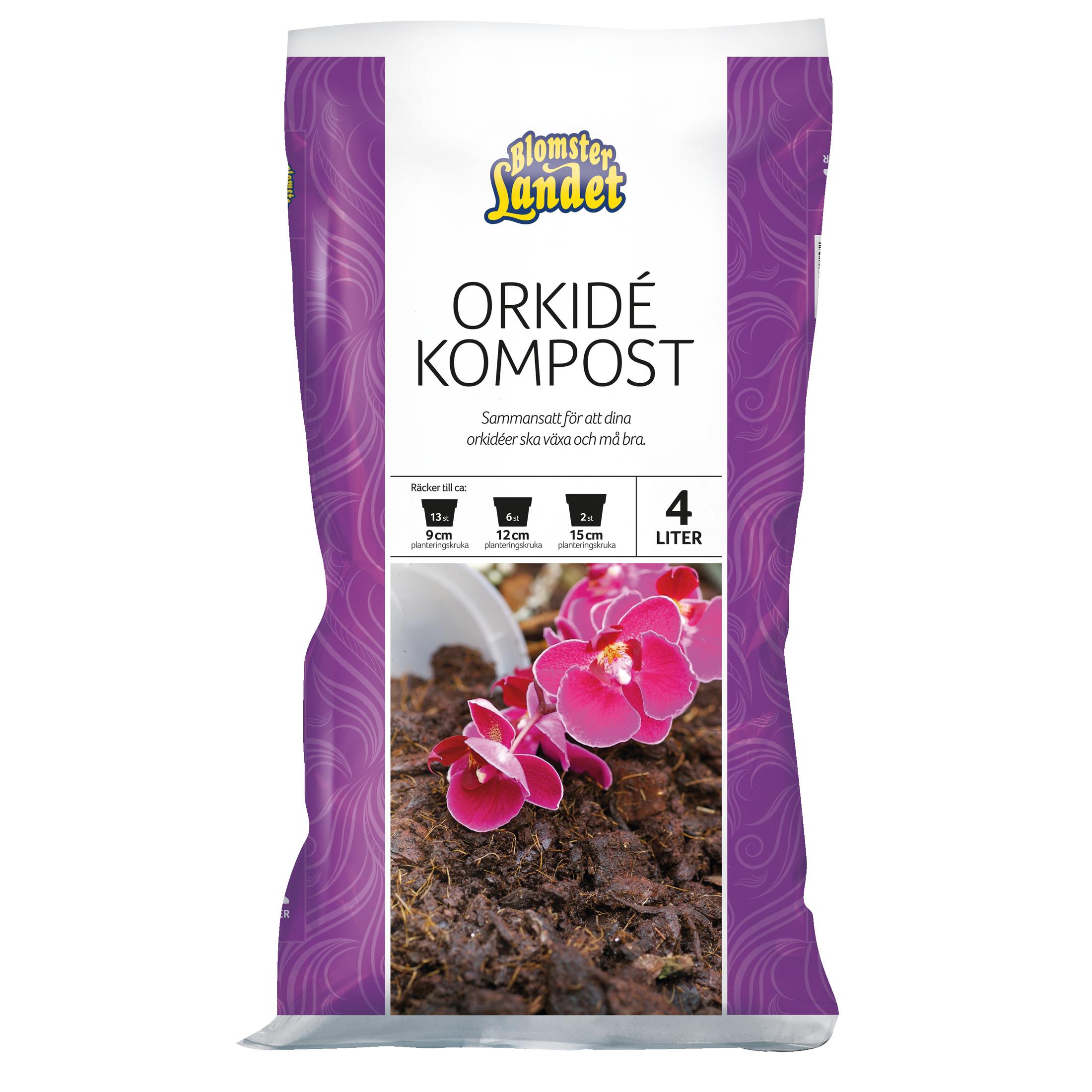 Produktbild på Orkidéjord  Blomsterlandet