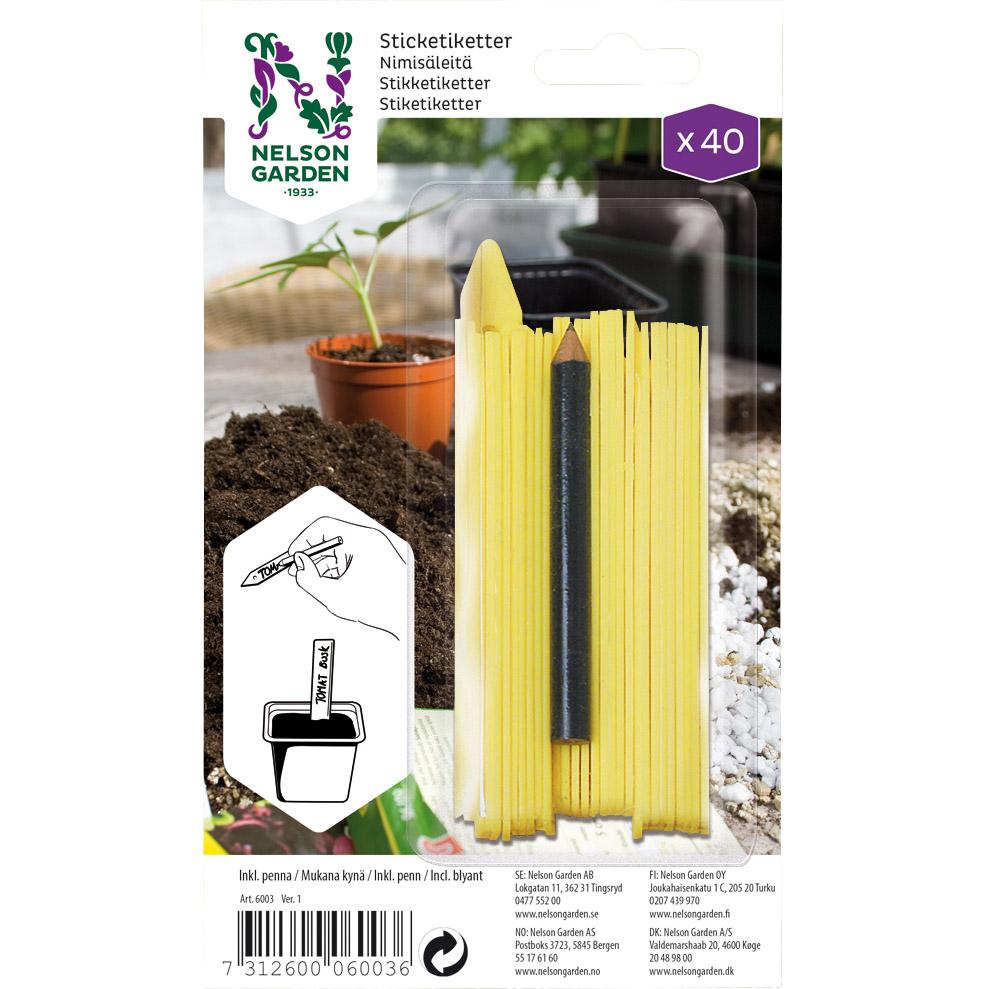 Produktbild på Sticketikett plast