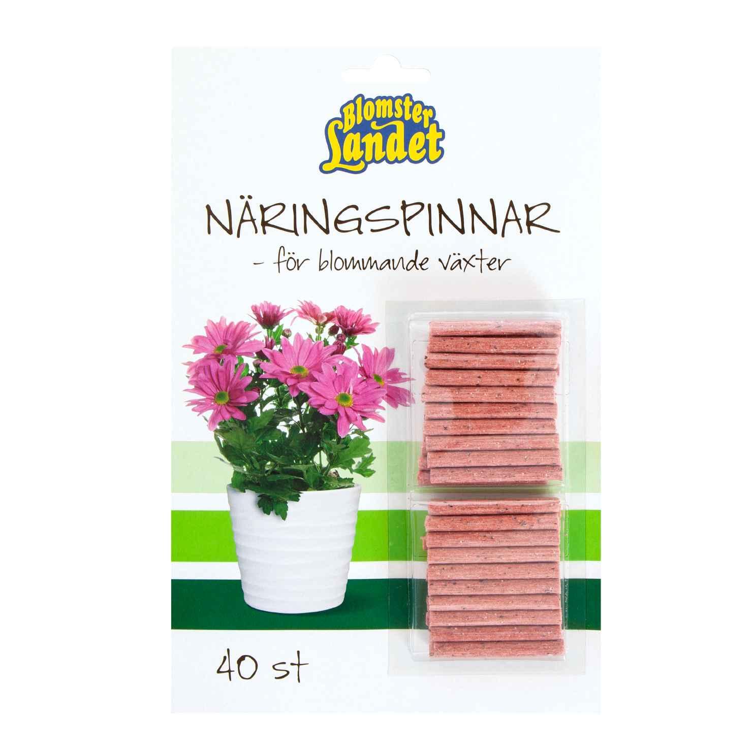 Produktbild 2 på Näringspinnar för blommande växter Blomsterlandet