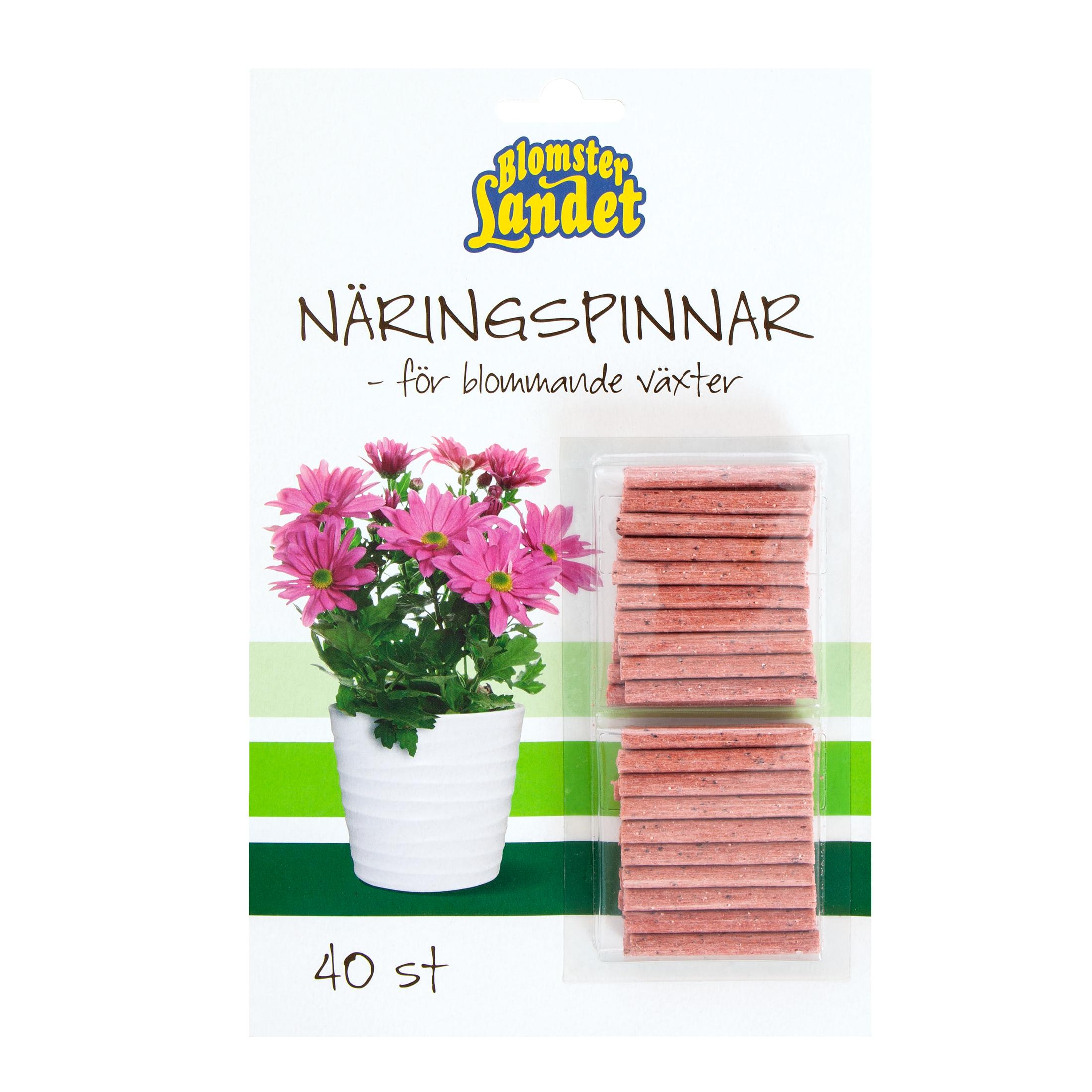 Produktbild på Näringspinnar för blommande växter Blomsterlandet