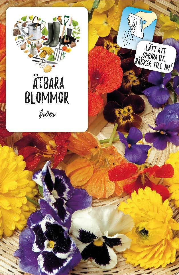 Produktbild på Fröblandning med ätbara blommor