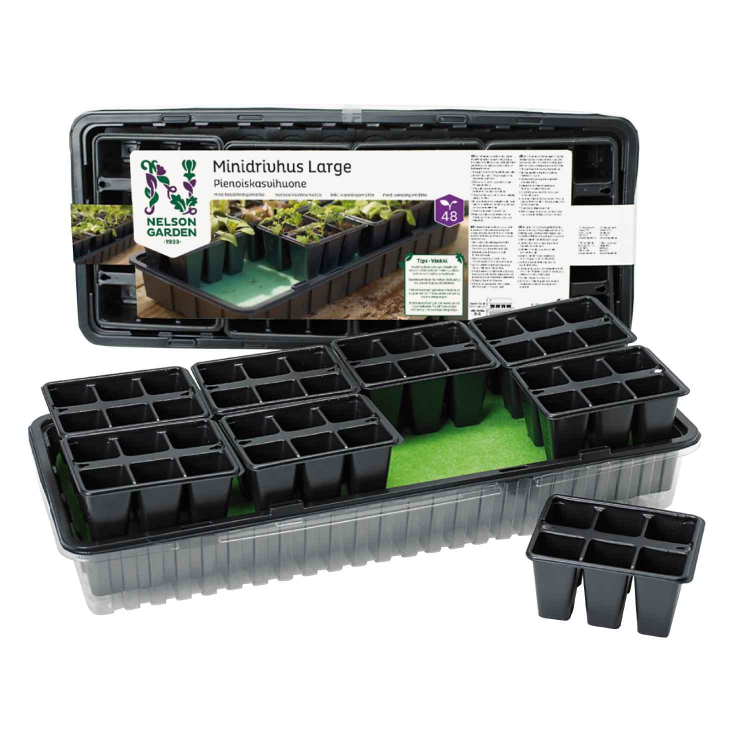 Produktbild på Minidrivhus långtidsbevattning