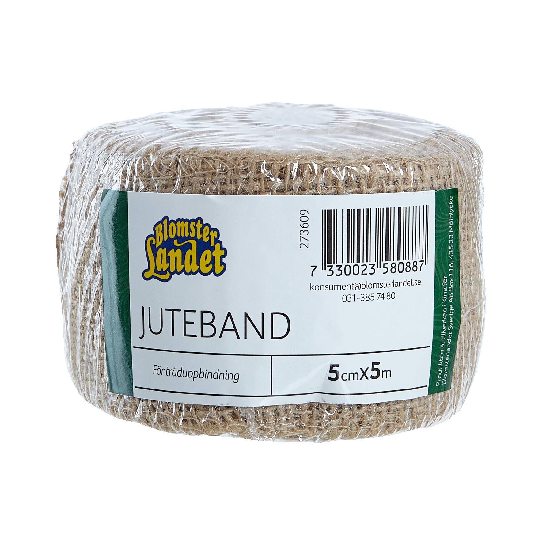 Produktbild på Juteband Blomsterlandet