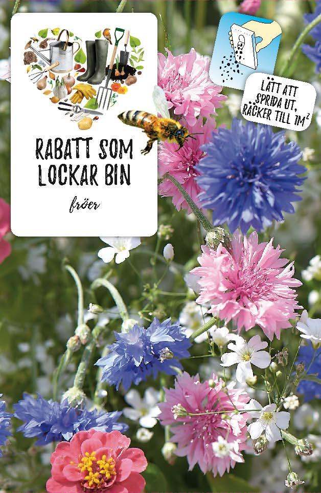 Produktbild på Fröblandning som lockar bin