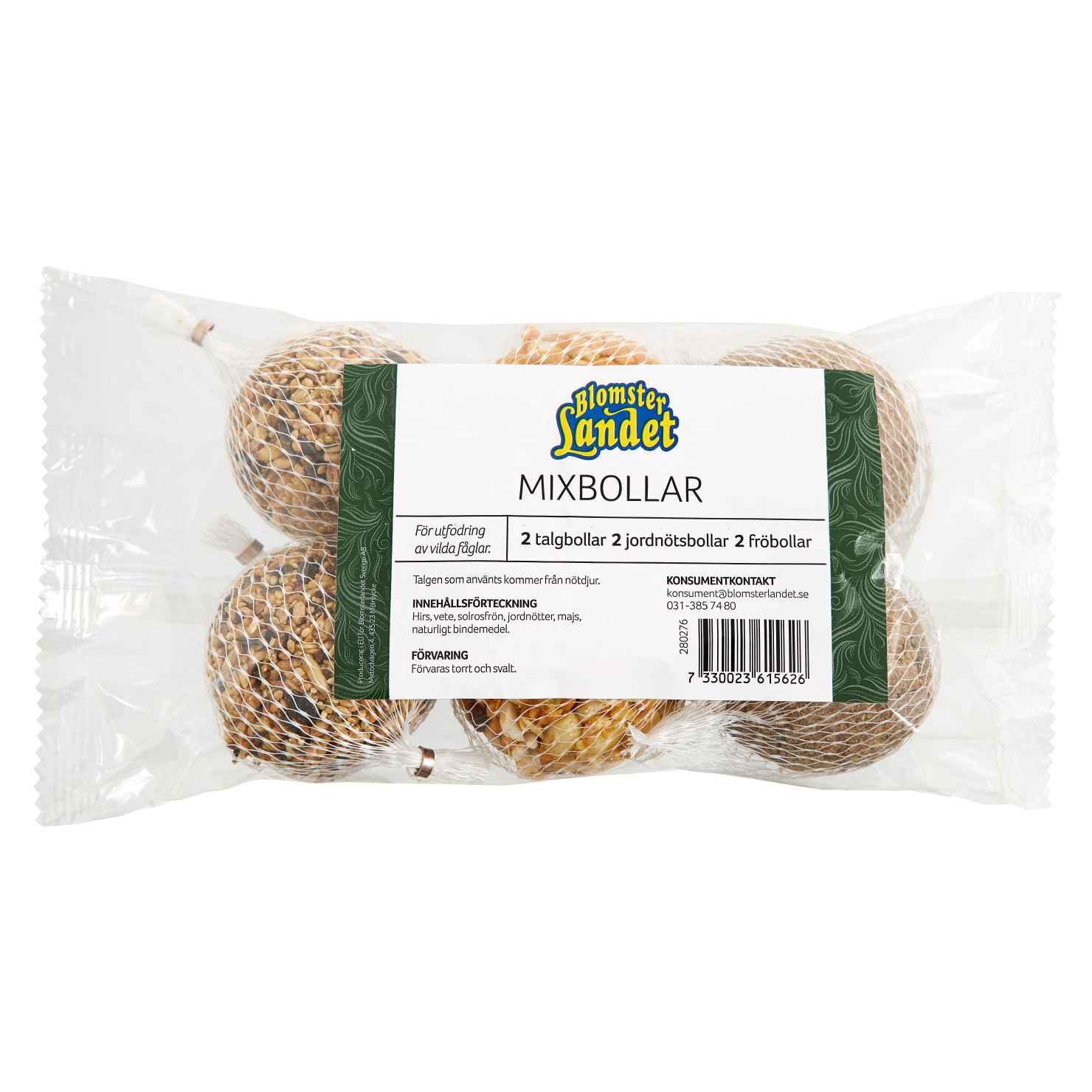 Produktbild på Mixbollar Blomsterlandet