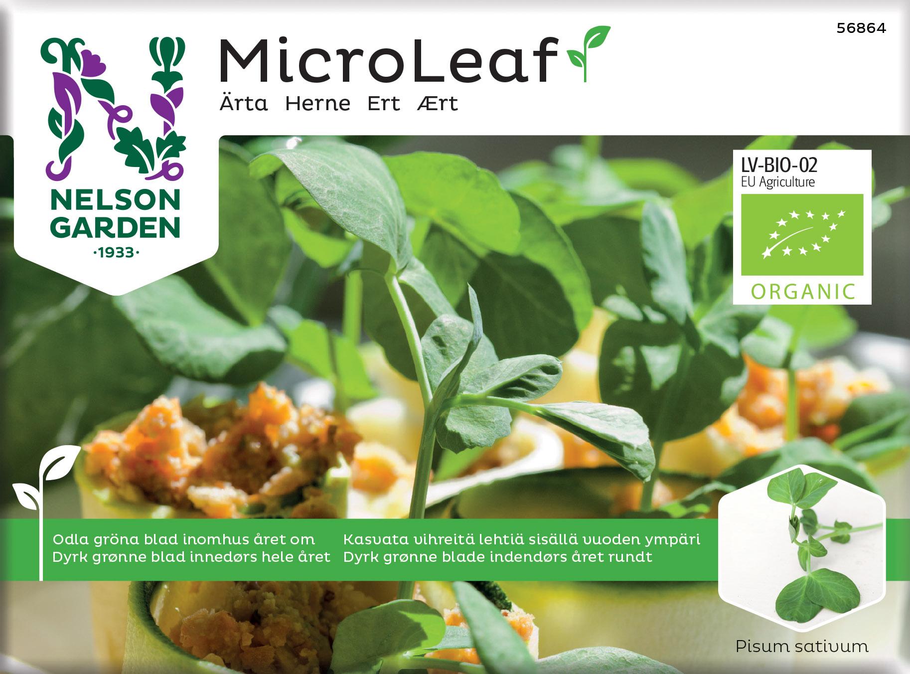 Produktbild på Micro Leaf Ärta