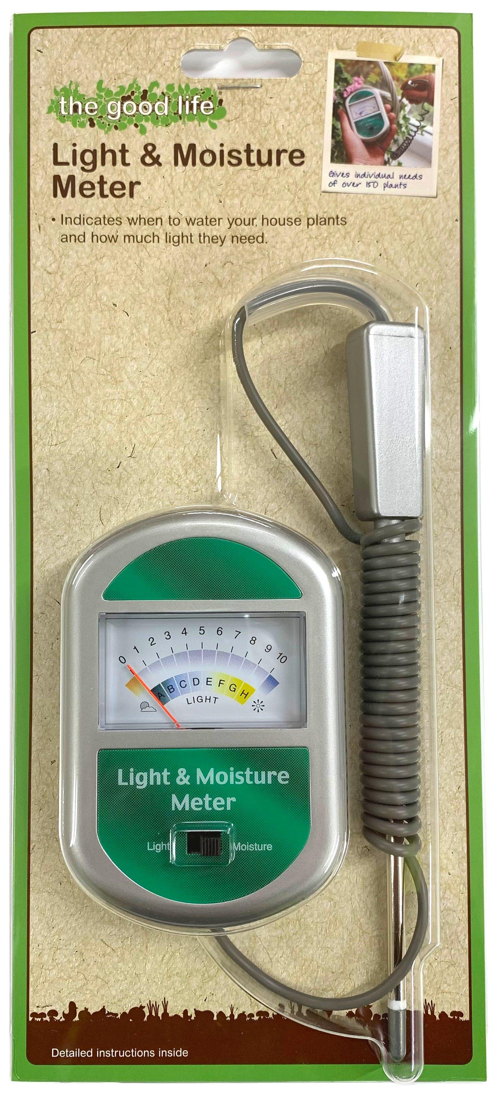 Produktbild på Ljus- och fuktmätare